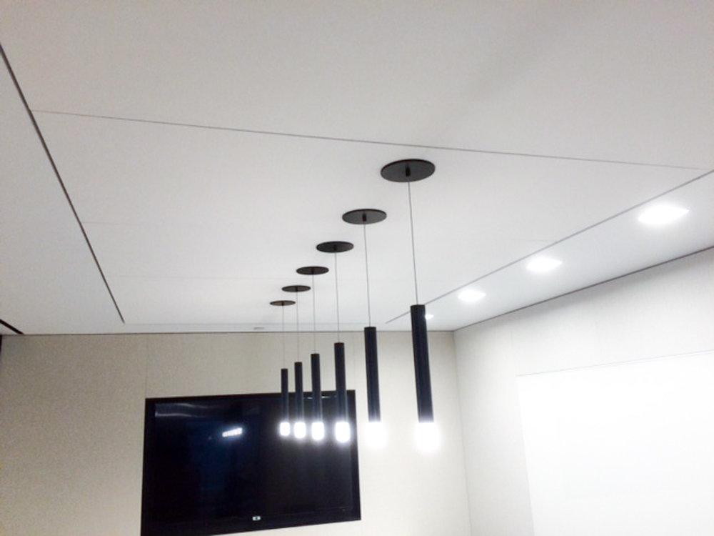 Sky Acoustics   Aura  acoustical ceiling system