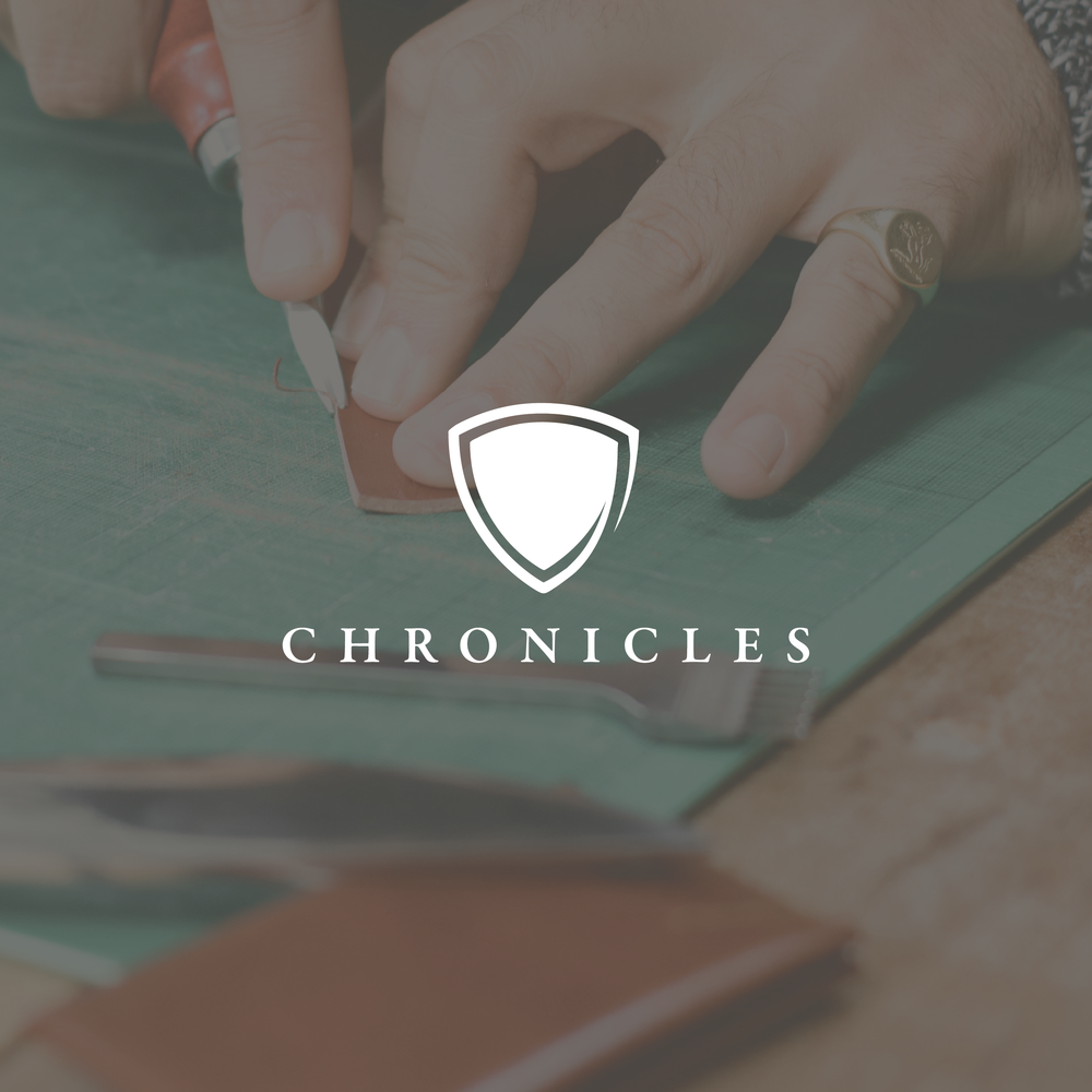 Crafted Chronicles - A family enterprise who craft products rich with story.Aiming to fuse the communication of heritage, timelessness and story. Minimal and simple. aiming at something of the classy and formal.