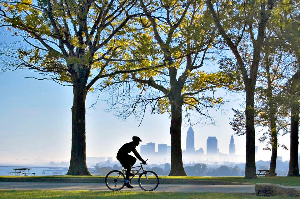riding bike in front of skyline.jpg