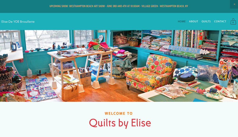 ELISE BROUILLETTE - quilts