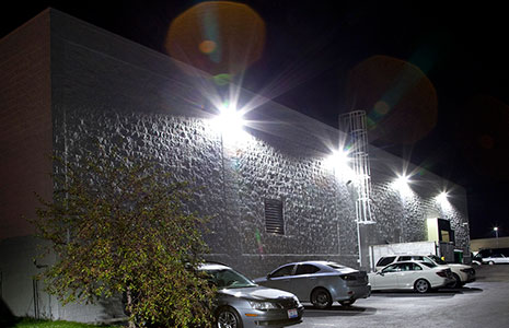 Coral Springs Storage LED Ligths On Wall