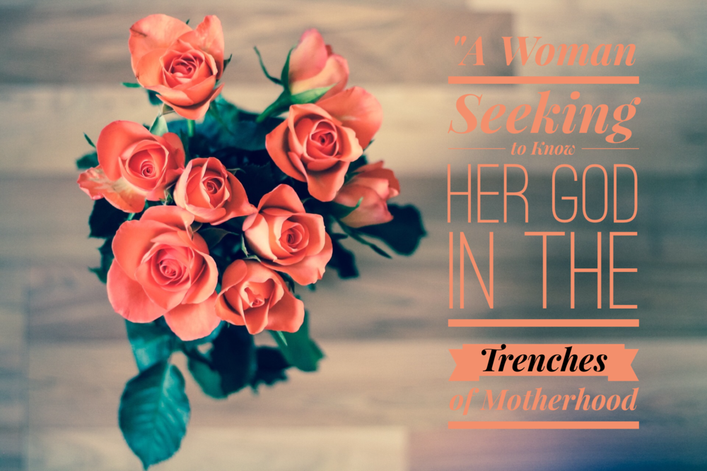 A Woman Seeking to Know Her God in the Trenches of Motherhood | www.codyandras.com/blog/2017/7/24/a-woman-trying-to-know-her-god-in-the-trenches-of-motherhood