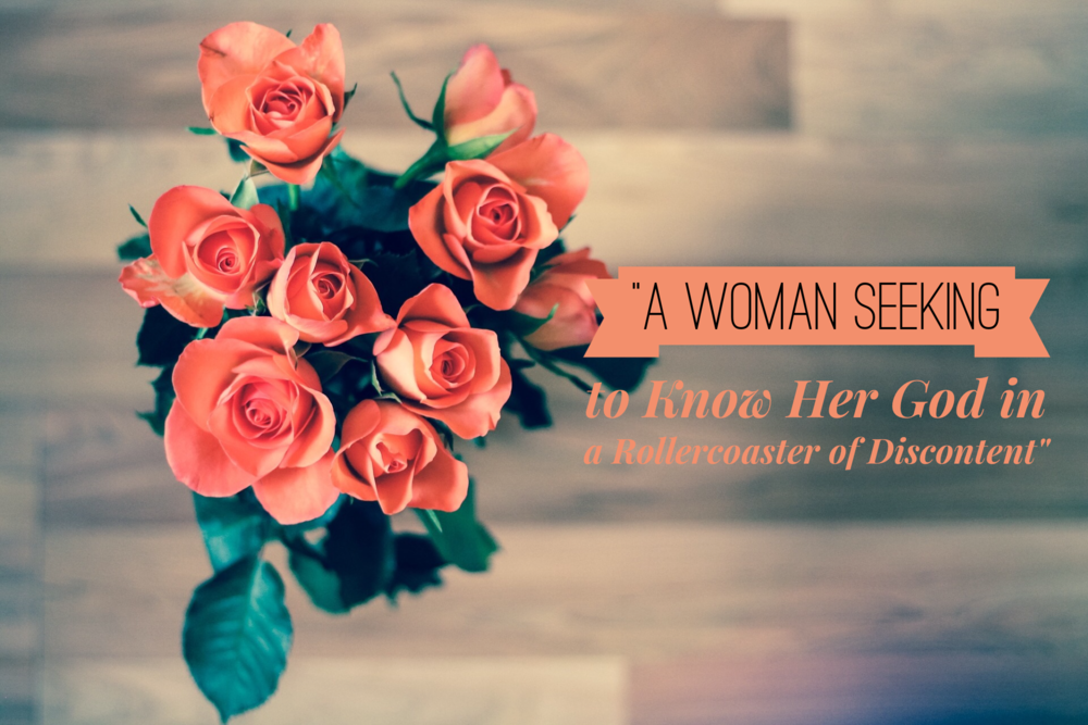 A Woman Seeking to Know Her God on a Rollercoaster of Discontent | www.codyandras.com/blog/2017/8/1/a-woman-seeking-to-know-her-god-on-a-rollercoaster-of-discontent