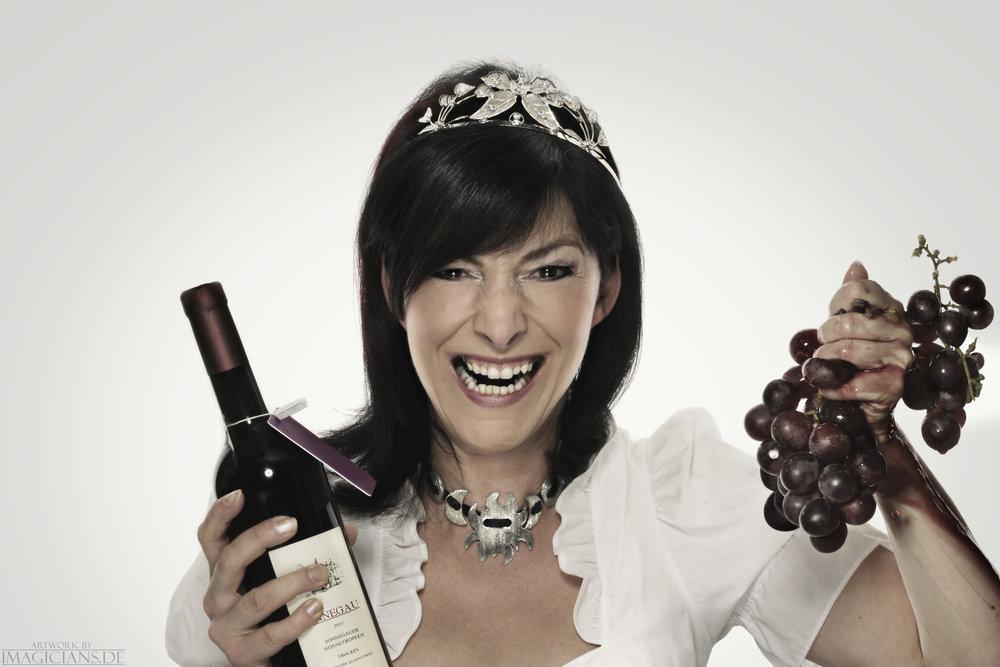 Michelle Spillner als Sonnegauer Weinkönigin. Foto: sebastian Konopix