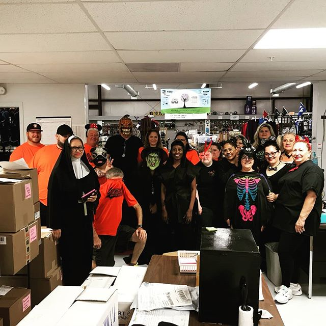 Happy Halloween from Brammer's Athletic Wearhouse! • • •  #brammers #brammersathleticwearhouse #brammersathletic #brammerskaty #screenprinting #screenprint #embroidery #heatpress #heatpressvinyl #vinyl #cadcut #athleticwear #sportsequipment