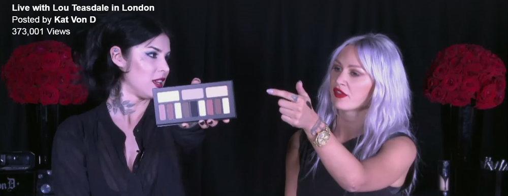 Kat Von D: Facebook Live