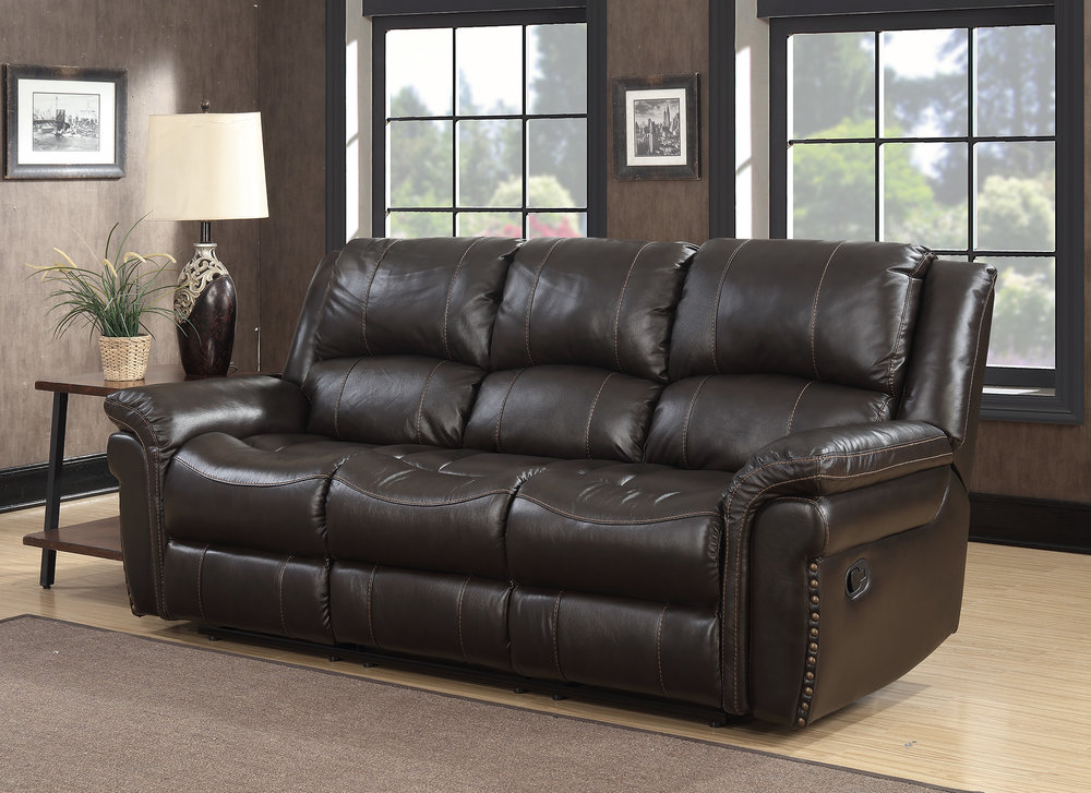 MNY2460-47 Manual Release Leather Motion Sofa Room.jpg