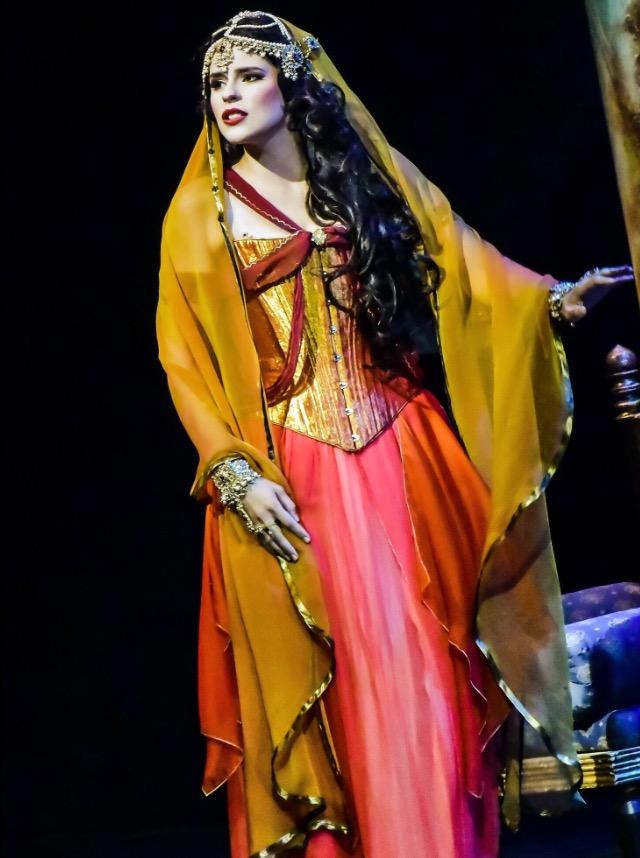 """Davidson in Santa Fe Opera's performance of """"Kismet'."""