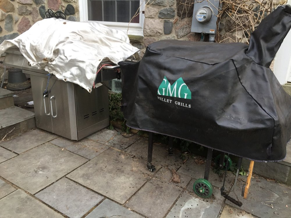 I keep my smoker next to my old gas grill. I still use the gas grill occasionally as a backup, or to sear a smoked steak without having to crank the smoker to high (and wait). For all else, the smoker is my first choice.