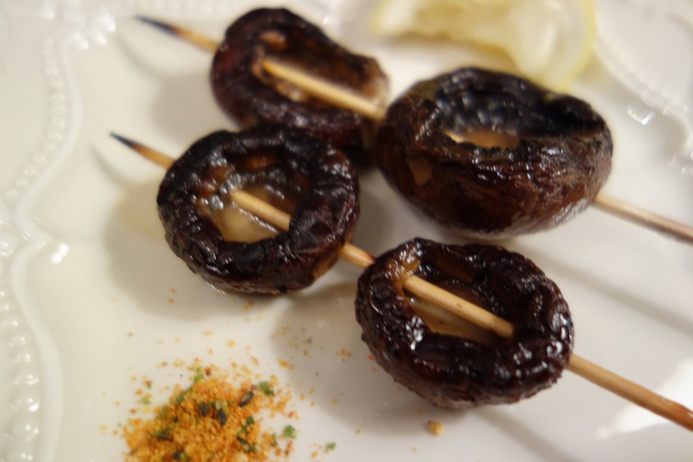 Portabello mushrooms.