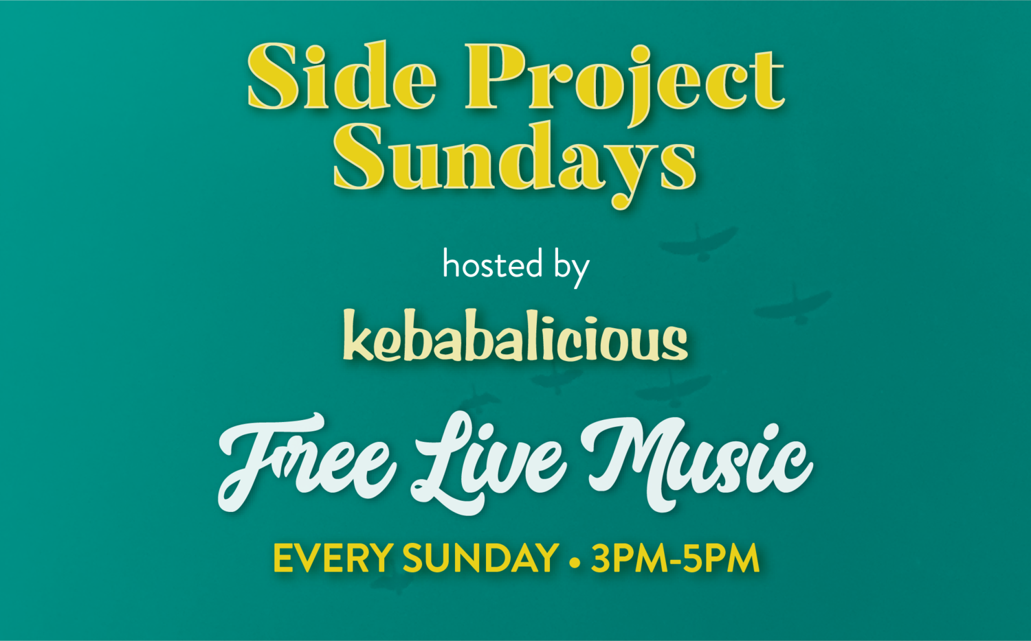 Side Project Sundays