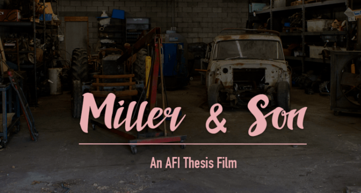 Miller & Son - Jesse spent a few weeks in LA playing the lead role of Ryan in Asher Jelinsky's AFI thesis film