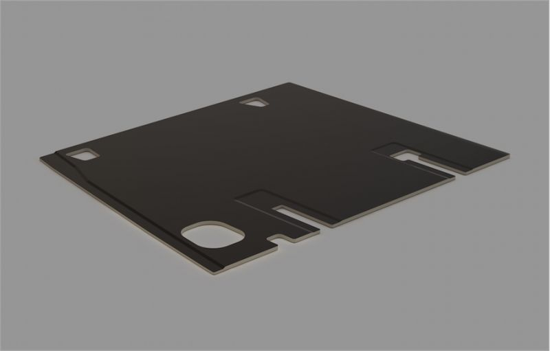 Narrow Widebody Floor Panel