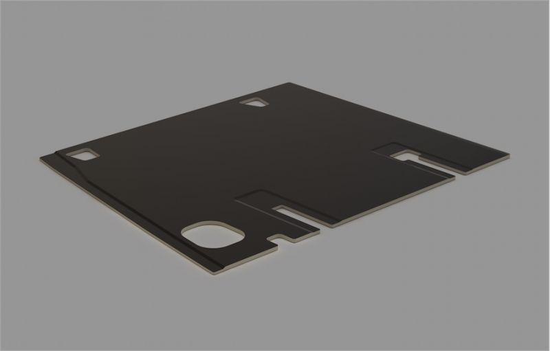 Narrow Widebody Floor Panel
