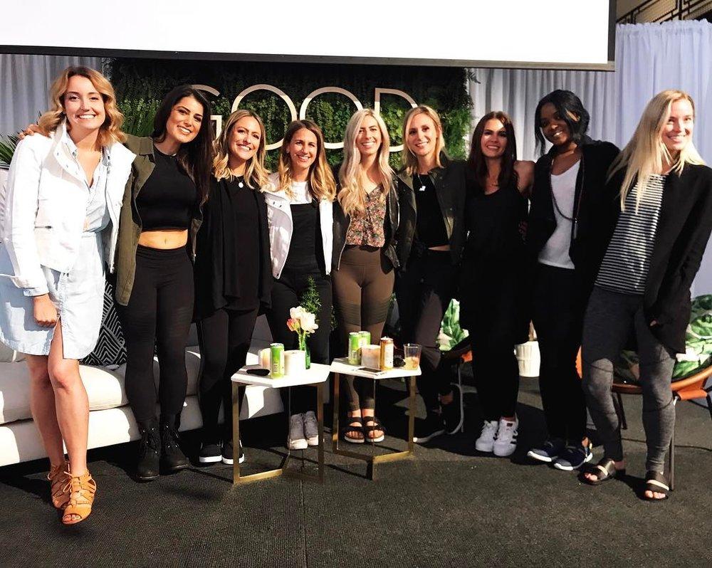 Cassandra Bodzak ,  Katie Horwitch ,  Jess Baumgardner ,  Talia Pollock ,  Katie Dalebout ,  Jen Clark ,  Kate Van Horn ,  Kimmie Smith ,  Jordan Younger