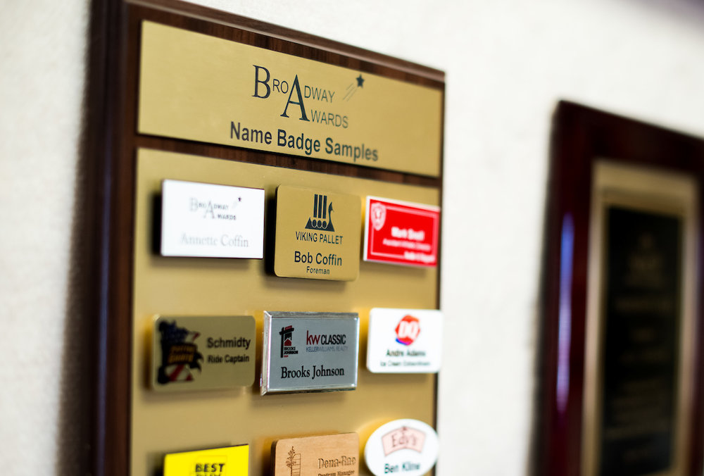 Promotional Products and Name Badges