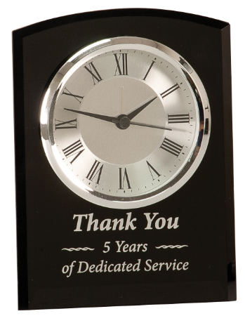 Minneapolis-corporate-gifts-black-glass-arch-clock.jpg