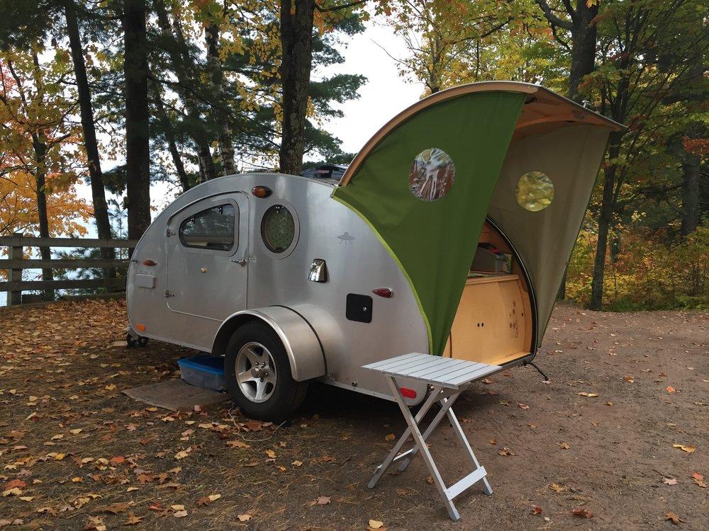 Teardrop camper _ 0.040 painted silver aluminum exterior.jpg
