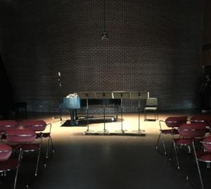 Djavad Mowafaghian World Art Centre, Simon Fraser University. Performance March 2015.