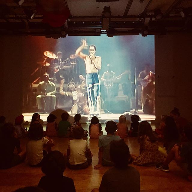 FELA KUTI • AFRO BEAT 🥁🎷🎺@williamsburgcamp ———————————————————————— #camp #artscamp #brooklyn #art #music #afrobeat #dance #play #act  #artist #summer #summercamp #nyc #ny #fela