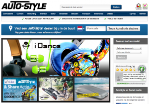AutoStyle homepage