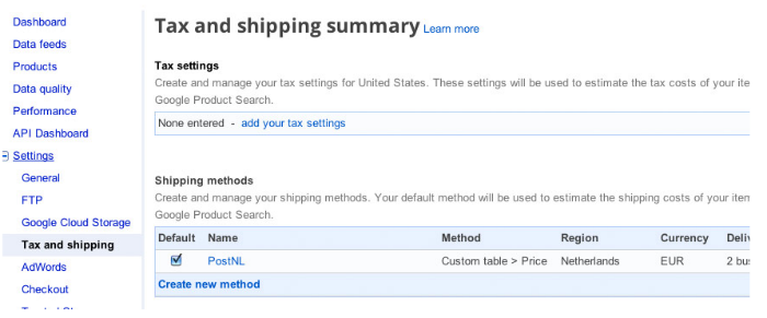 Tax and shipping summary_700