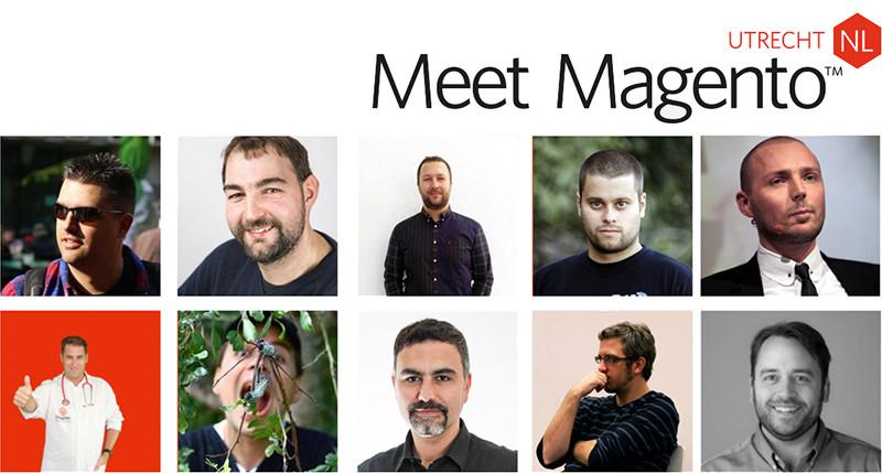 Een selectie van de sprekers van de Meet Magento 2016 editie