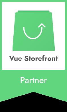MediaCT Official Partner Vue Storefront Logo