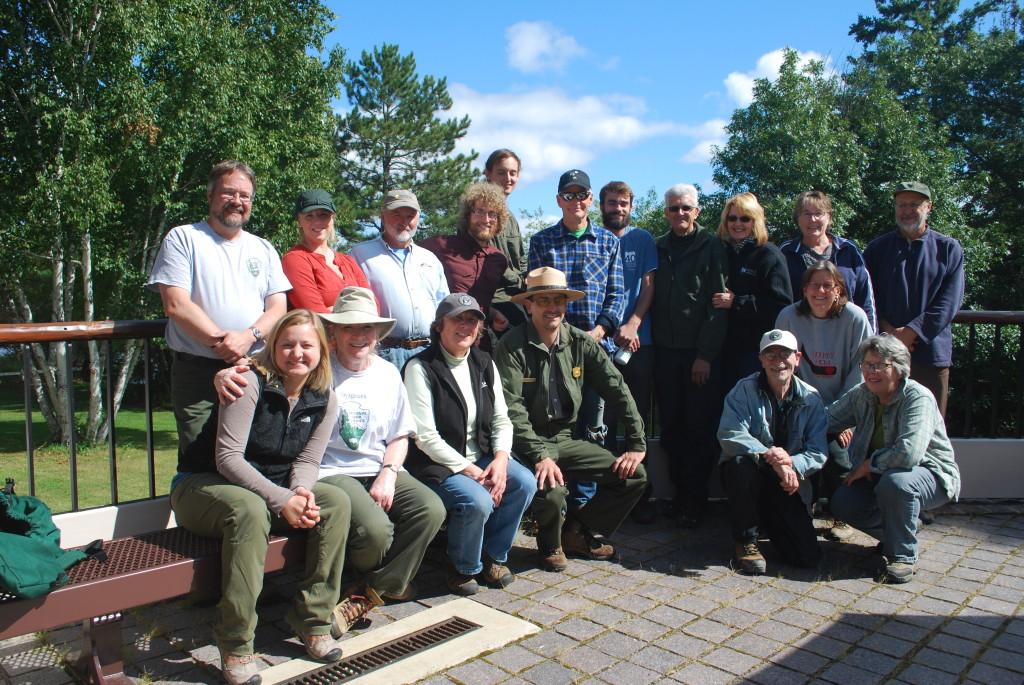 2015 volunteer rendezvous friday group