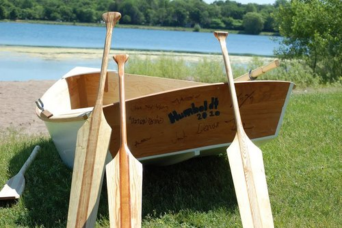 - A paddle making class with Urban Boatbuilders