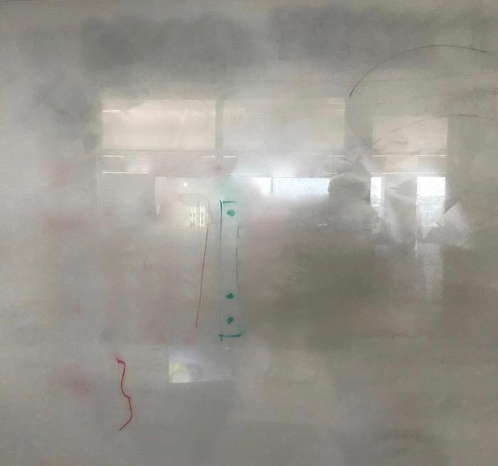 Redacted whiteboard