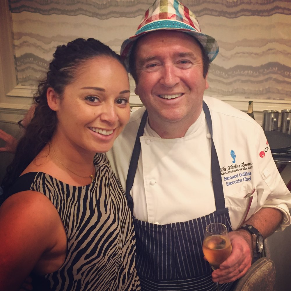 One of my Cookout favourites, Chef Bernard Guillas