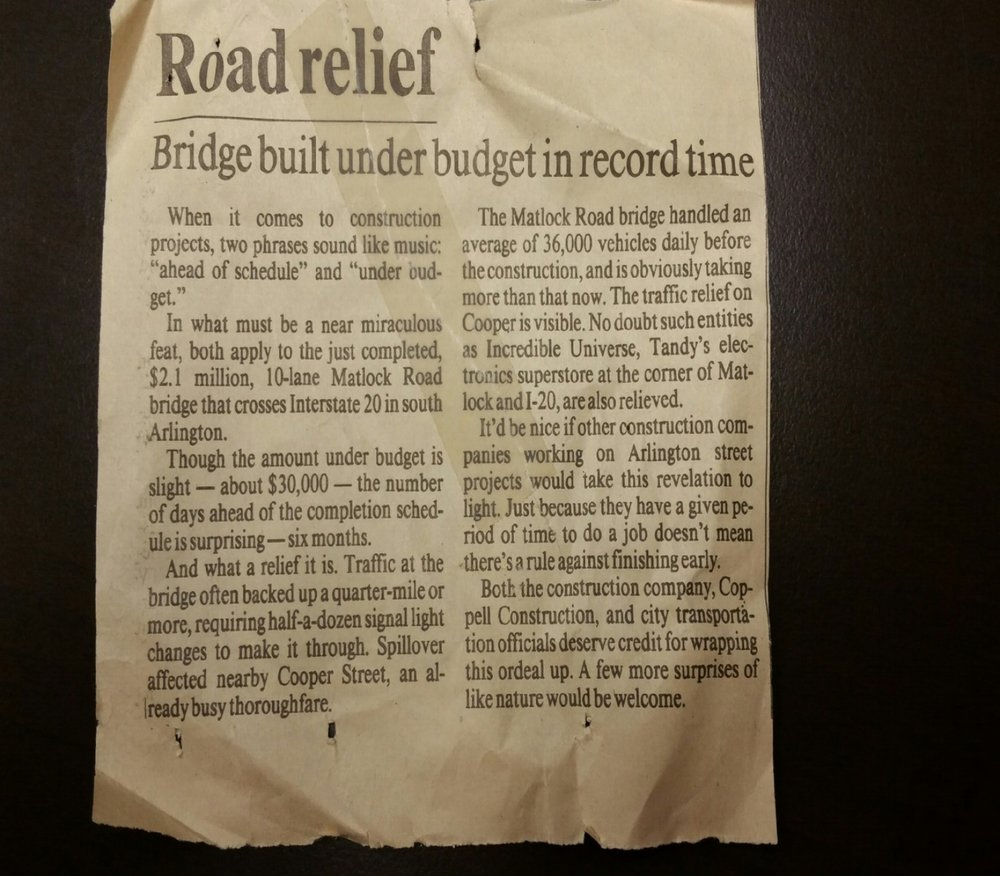 Article published Monday, July 19, 1993 by the Fort Worth, Texas newspaper.
