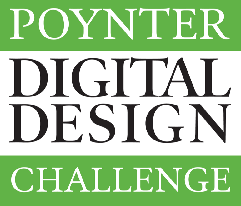 Poynter Digital Design Challenge