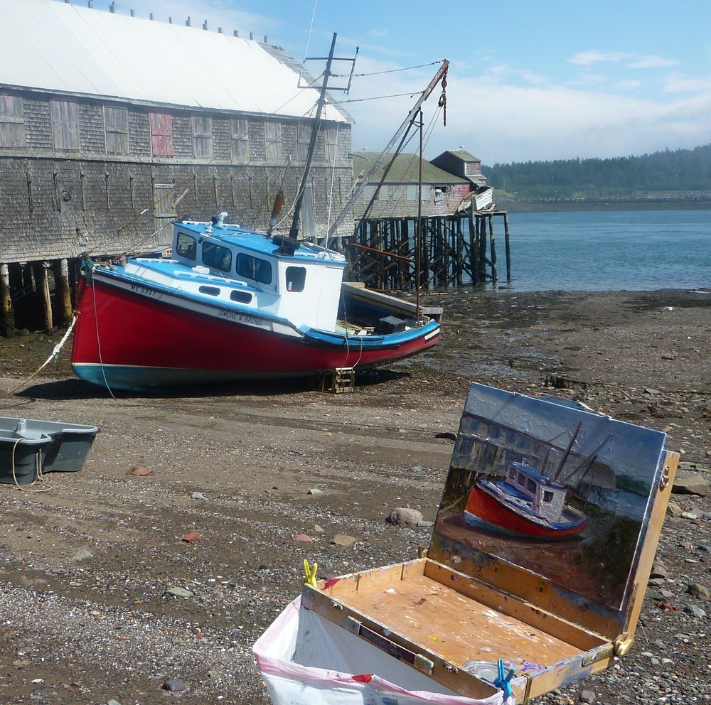 Daly Painting Lubec, Maine