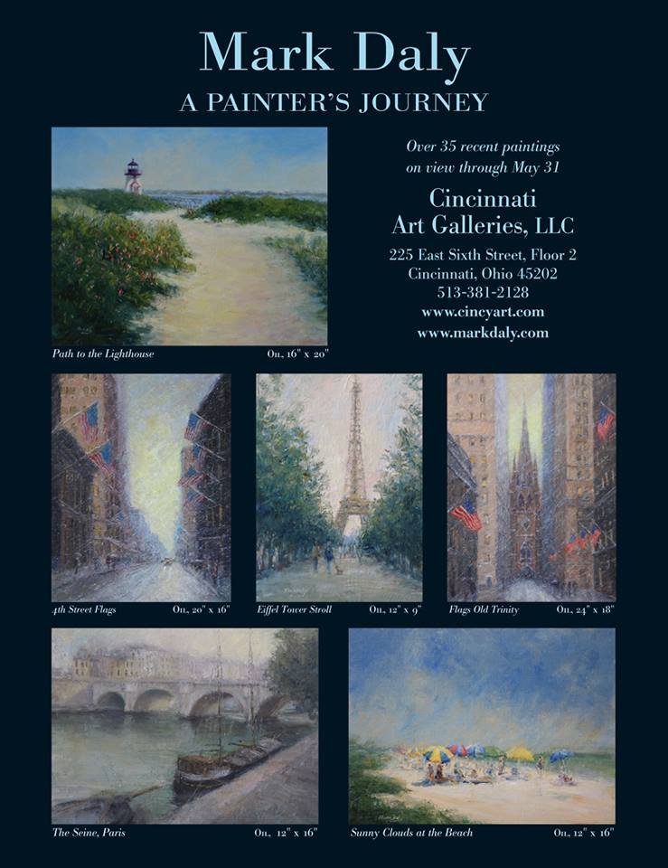 "Mark Daly's ""A Painter's Journey"" Show"