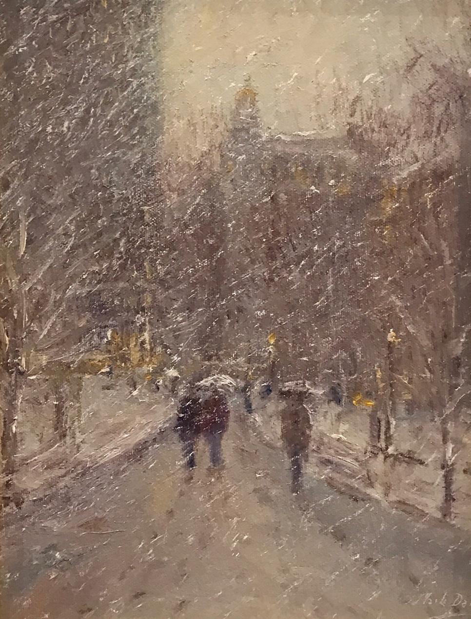 Warm Snow, Madison Square Park