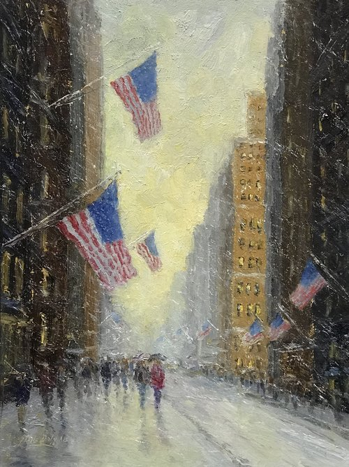 Mark Daly's Painting City Flags