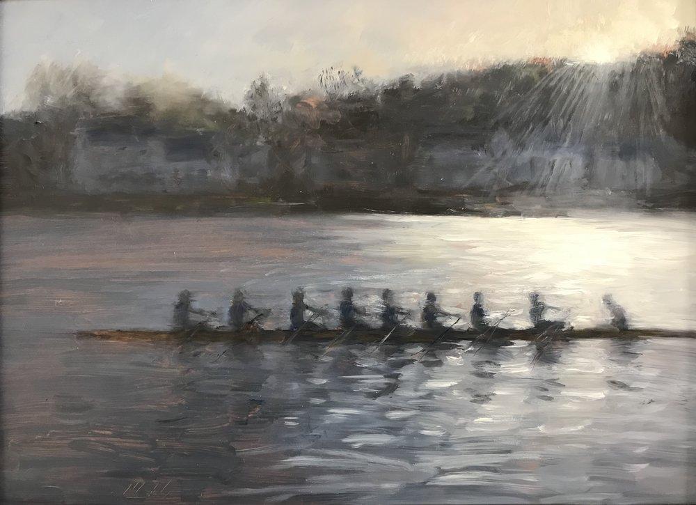 Nine In The Boat