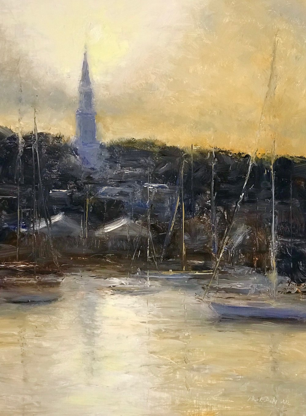 Impression, Harbor Sunset