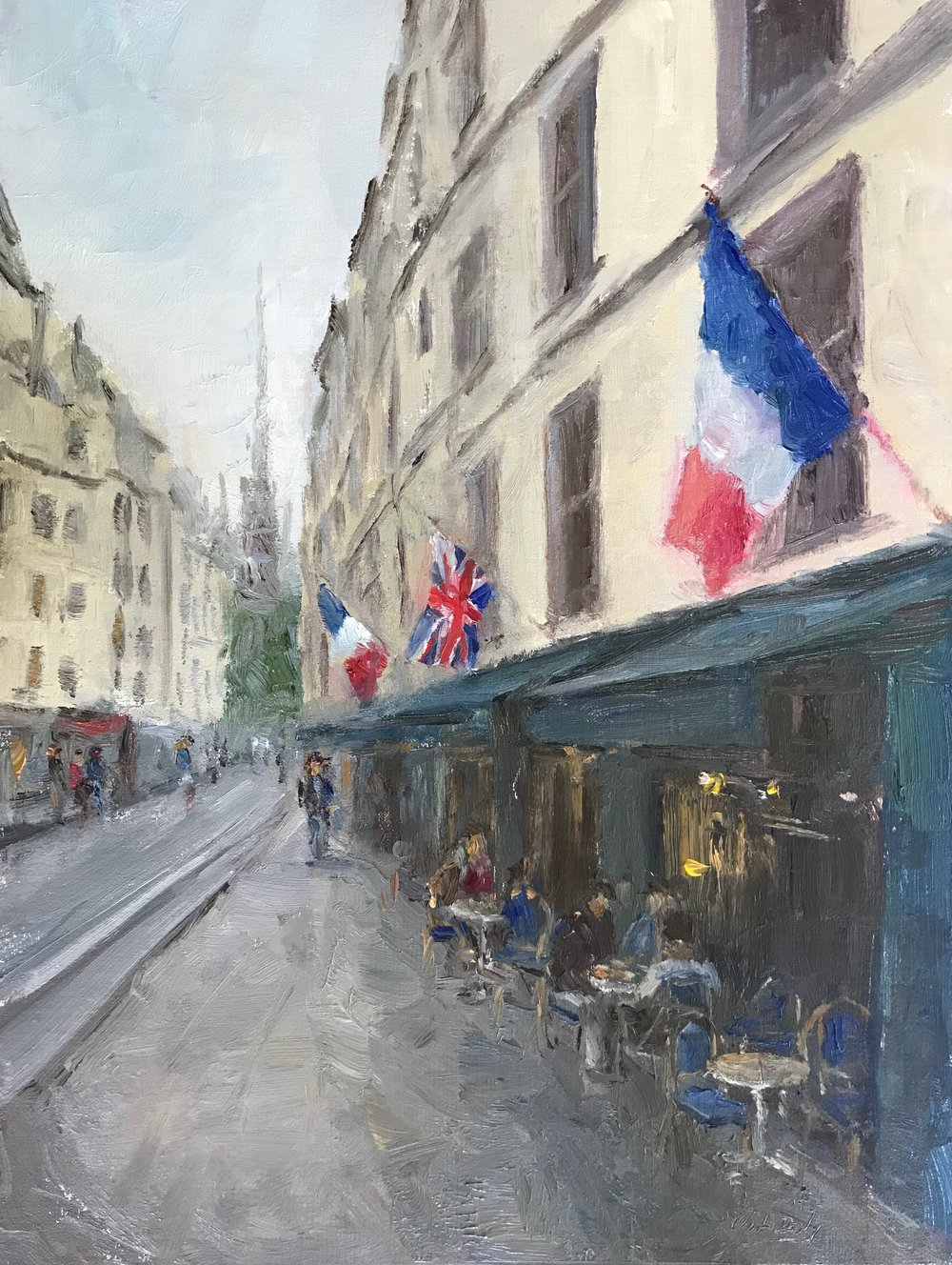 Cafe Flags, Paris