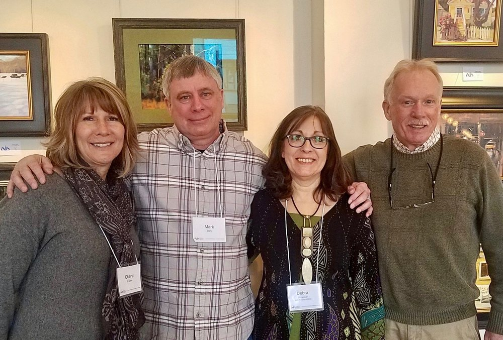 American Impressionist Society Art Panel