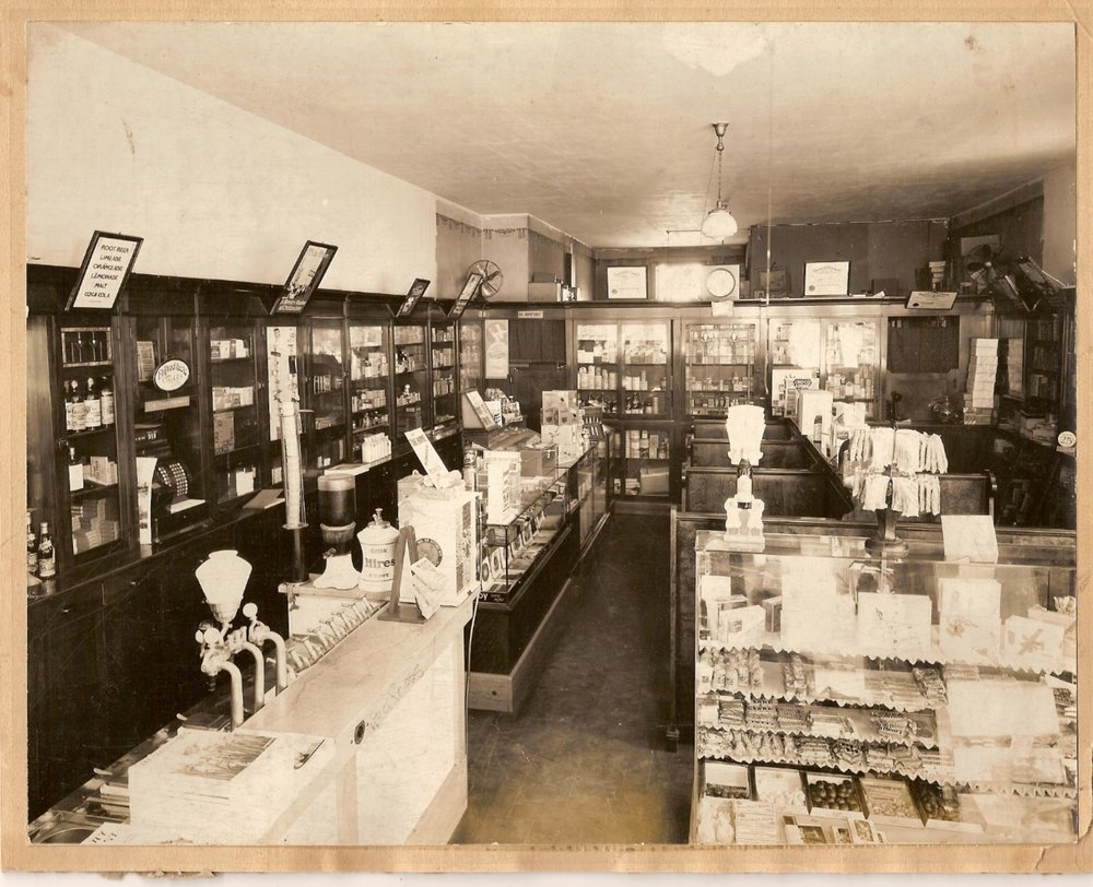 Thomas Pharmacy Circa 1930