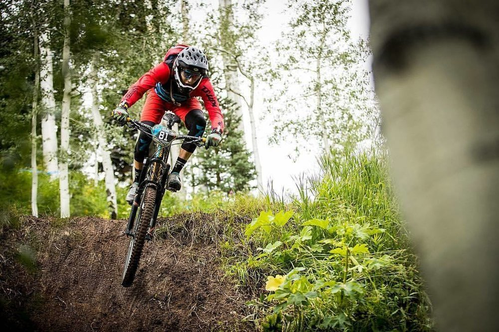 Scott Countryman took 54th at Aspen EWS. Photo by Sven Martin.