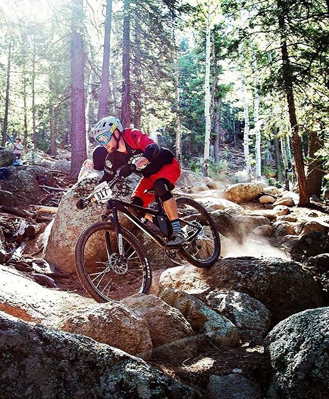 @jessecalvin1 cruising through the Sunset trail. #mtbflagstaff #hardtaillife #konahonzo #flagbikerev