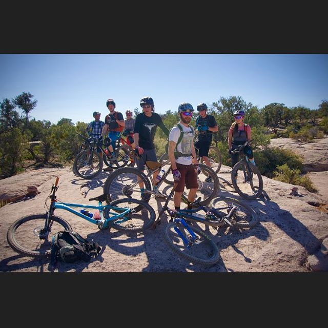 Flashback to our employee trip a couple weeks ago. #mountainbike #flagbikerev #bikeshoplife 📸: @scott.countryman.14