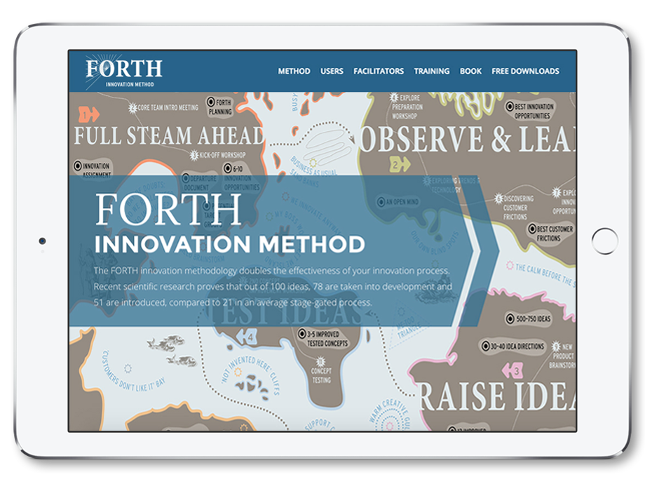 Visit the official website   for  FORTH Innovation