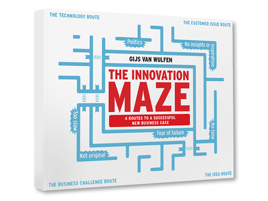 Explore  The Innovation Maze    by   Gijs Van Wulfen