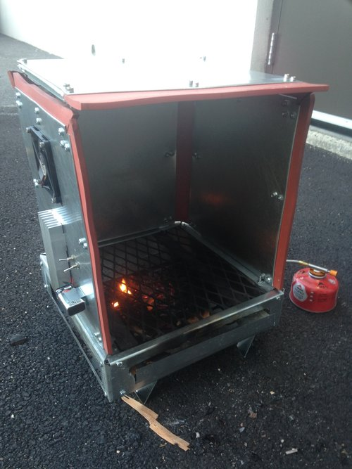 using old gas stove