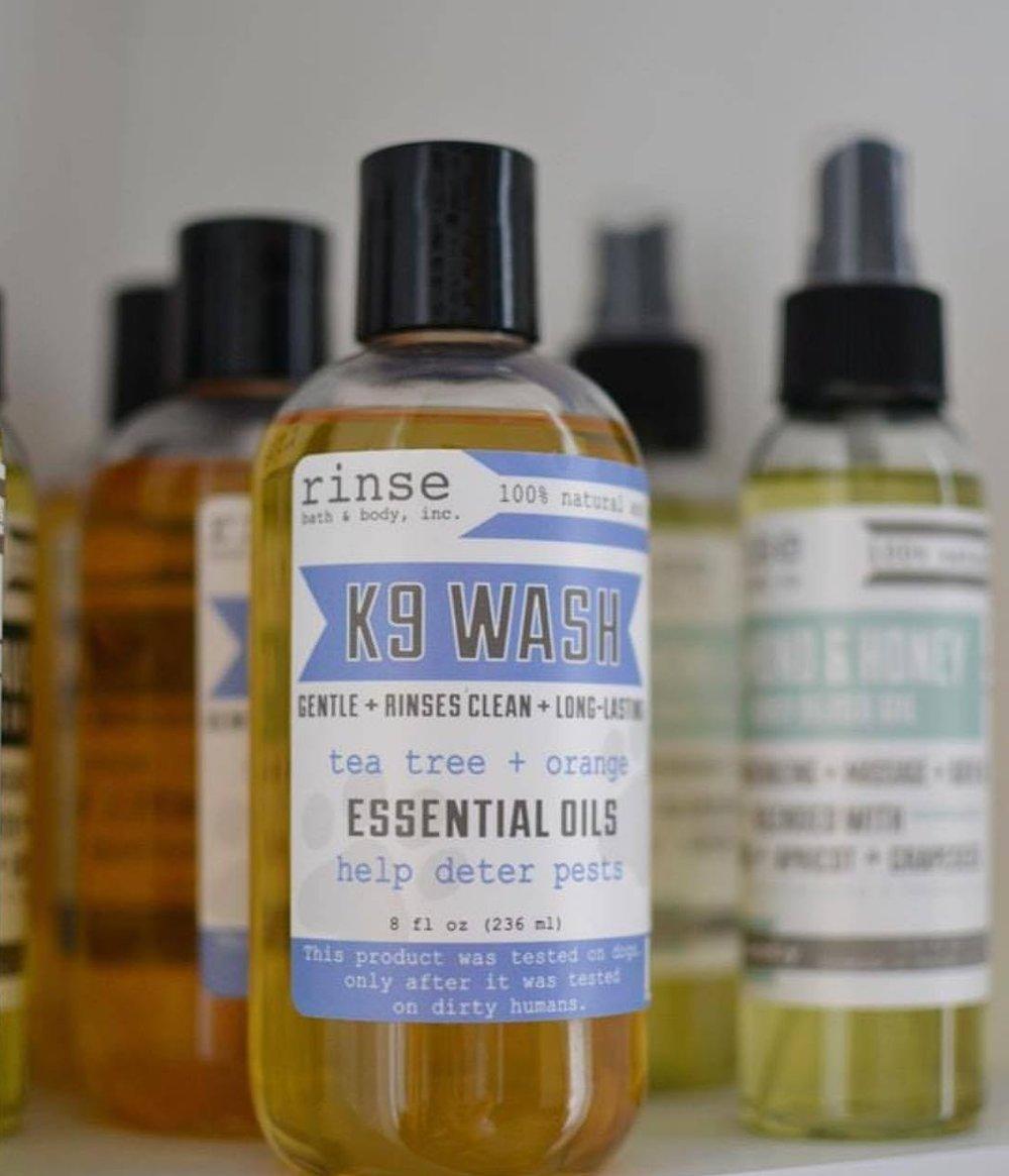 Rinse K9 Wash